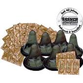 50 préservatifs aromatisés chocolat