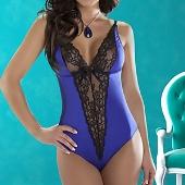 Body bleu Camelia