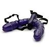 Gode pas cher - Double gode ceinture violet