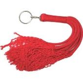 Fouet Rouge en Corde - 60 cm