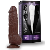 Gode ventouse Black Tie Affair Donatello - 18,5 cm