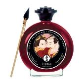 Peinture corps vin pétillant fraise Shunga