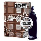 Preservatif aromatisé au chocolat