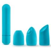Stimulateur vibrant Euphoria Massage turquoise