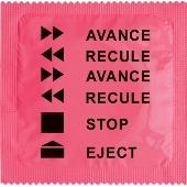 1 X préservatif Avance / Recule