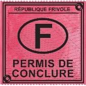 1 X préservatif Permis de Conclure