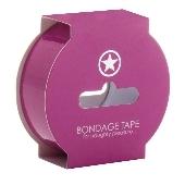 Bondage Tape Rose - 17 Métres