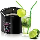 Bougie de massage gourmande Mojito - 180 gr