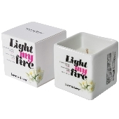 Bougie de massage Light My Fire Monoi - 80 ml
