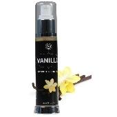 Lubrifiant + Massage Effet Chauffant Saveur Vanille - 50 ml