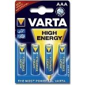 Piles Varta AAA par 4