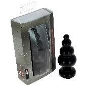 Plug anal noir 15,5 cm - Ø 5,9 - Fabriqué en France