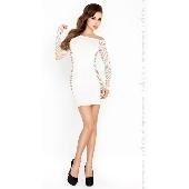 Robe blanche BS025 - TU