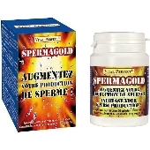 Spermagold : augmentez production de sperme - 60 gélules