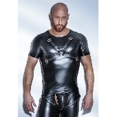 Tee Shirt Powerwetlook Harness H041 - S