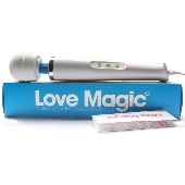 Vibromasseur Electrique Love Magic blanc - 18 vitesses