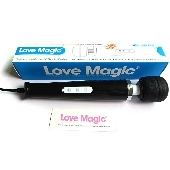 Vibromasseur Electrique Love Magic noir - 18 vitesses