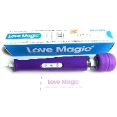 Vibromasseur Electrique Love Magic pourpre - 18 vitesses