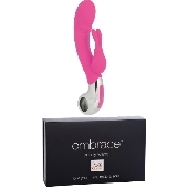Vibromasseur rechargeable Embrace Bunny G Wand rose